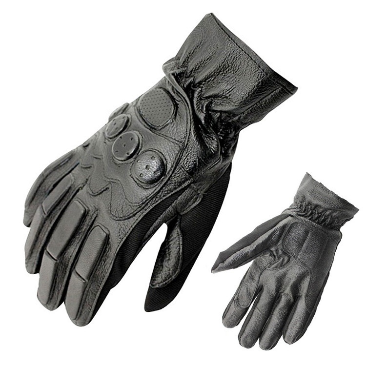 hot sale very cool Mens leather gloves outdoor fitness kickboxing racing motorcycle outdoor sport fighting full finger gloves<br><br>Aliexpress