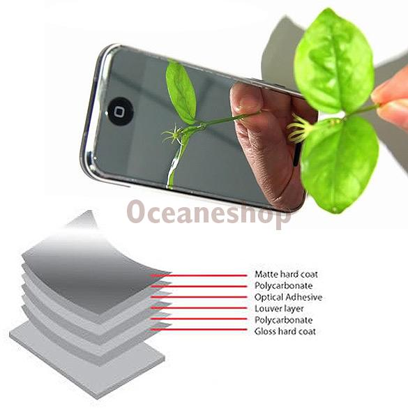 2pc LCD Mirror Screen Protector Film Cover for iPhone 3G 3GS(China (Mainland))
