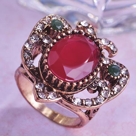 Vintage Turkey Engagement Couple Rings Jewelry Blue Stone ...