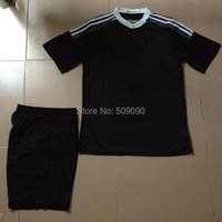 15 + Раэль Ма/Мадриде от взрослых вышивка Дракон черный футбол Джерси / Форма спортивная одежда Раэль Ма/Мадриде болельщиков версия