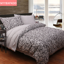 New spring and summer plants flowers 4pcs cotton bed sheet / bedspread / Duvet cover set Queen King size for single double bed(China (Mainland))