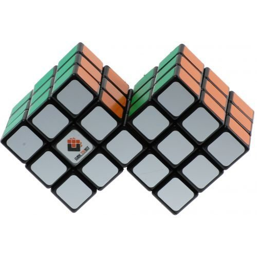 Cube Twist Double 3x3 Magic Cube (difficulty 9 of 10)(China (Mainland))