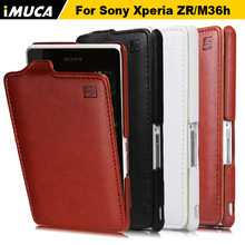 Buy Sony Xperia ZR zr m36h M36h C5502 C5503 cases covers Fundas Flip Cover Vertical Cover 4 Colors Available Case C5502/ C 5503 for $5.96 in AliExpress store