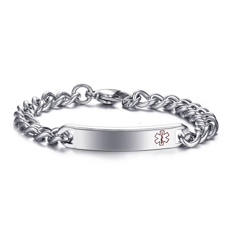 High Fashion Medical Alert Bracelets