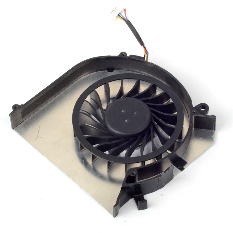 Silver Laptops Computer Replacements Cooling Fan CPU Cooler Power 5V 0.4A Fan Accessories Fit For HP DV6-7000/DV7-7000 F1171 P25(China (Mainland))