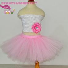 Tulle baby pink girls tutu fluffy tutu skirt girl 1 T – 8 years old