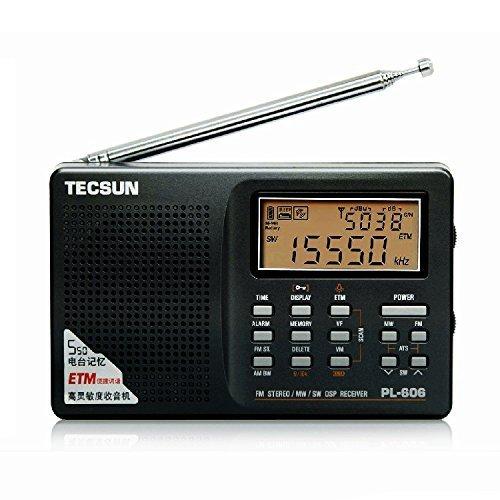 Free Shipping Tecsun PL-606 Digital PLL Portable AM/FM LW/MW/SW multi band Radio Receiver with DSP(China (Mainland))
