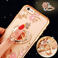 Bling Diamond Case for Samsung S5 S6 S7 Edge Note 3 4 5 for iPhone 5s