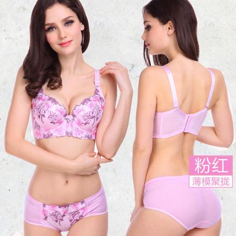Women bra set 34-40 A-D cup push up bra set 6 colors underwear women sexy bra set women lingerie plus size bra and panty set