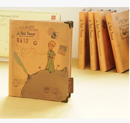 Vintage hardcover the Little prince Dairy notebook with monthly weekly planner