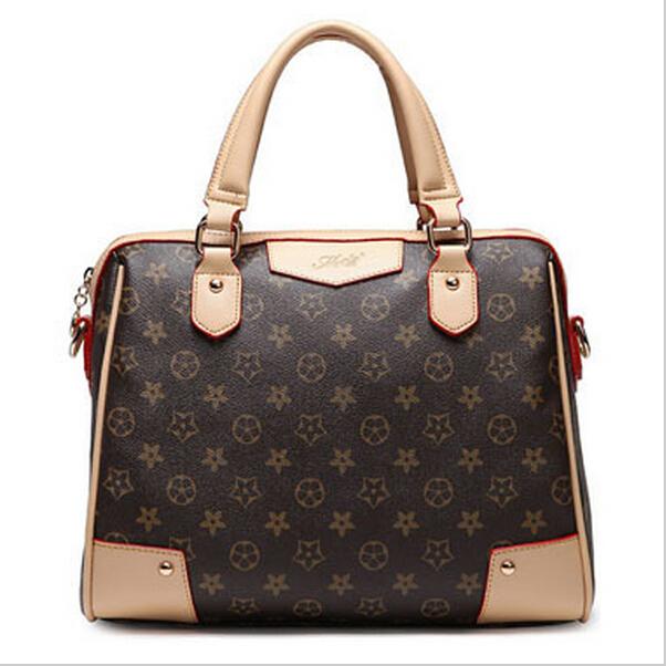product New Floral Casual Tote Women Leather Handbag Women Messenger Bags Brand Designer Handbags High Quality Woman Bag Bolsas Feminina