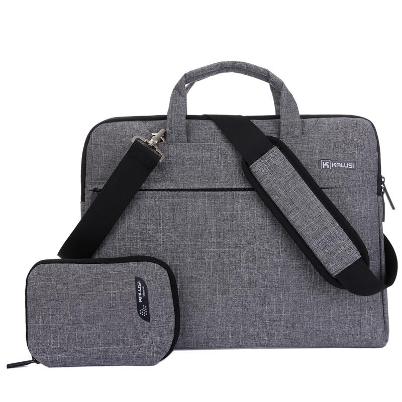 """Laptop Bag New Arrival kaLuSi Brand Waterproof handbag 11"""" 13"""" 15"""" 17"""" Notebook Computer Unisex Briefcase Shoulder Messenger Bag"""