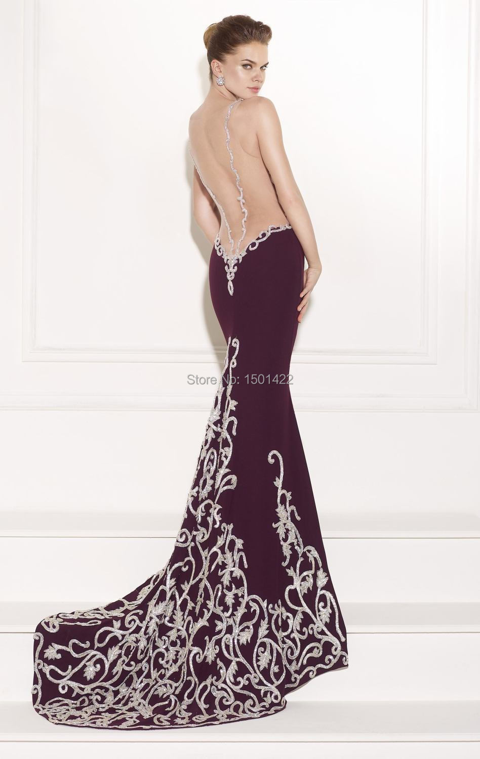 Backless Gowns Evening Gowns | Dress images