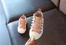 TheLittleWings סתיו ילדים חדשים נעלי בית ספר סופר מושלם מסמרת פנינת עיצוב בנות בני מגפי סופר רך וcomfortab(China)