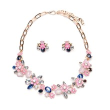 2016 Collares ZA Necklaces & Pendants Crystal Choker Necklace Flower Silver Chain Collier Femme Boho Kolye Accesorios Mujer Reward