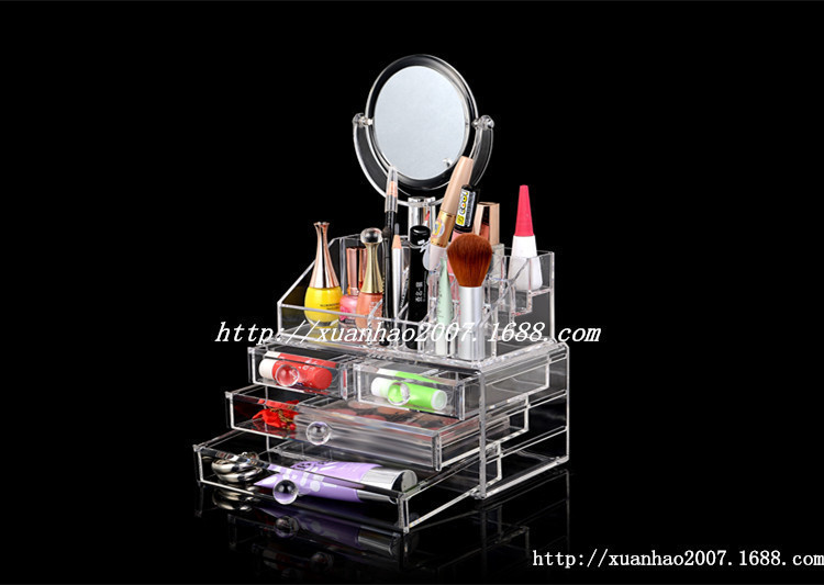 Femmes acrylique maquillage organisateur de rangement - Rangement acrylique maquillage ...