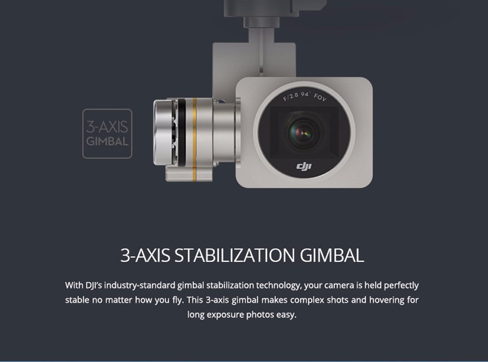 DJI Phantom 3 Professional fpv Camera drone 4K video 12 Megapixel Photo GPS system 3-Axis Stabilization Gimbal Live HD View