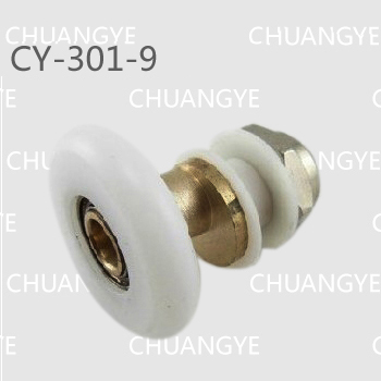 5x25x6mm shower door pulley20-27 mm copper  pulley<br><br>Aliexpress
