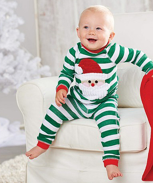 Nothing says the holidays are here like seeing children dressed in red, green and cute plaid holiday clothes. So if you're a mom who is checking her list twice for holiday baby clothes, Christmas pajamas or toddler holiday clothing you've come to the right place.