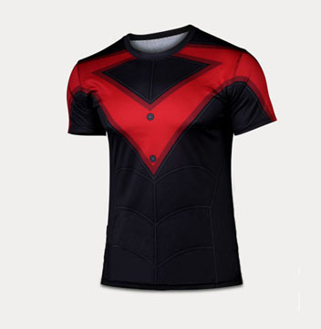 Men New Skin Tights Shirts,Fixgear Brand Compression Sports T-shirts,Running Cycling Surfing Tops,Bodybuilding Fitness S-4XL(China (Mainland))