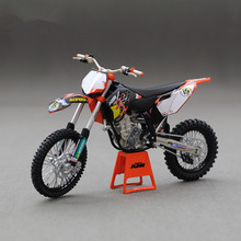 1/12 Diecast Motorcycle Model Toys KTM 450 SX-F 09 The King Of Cross-Country Motorcycle Toys For Children In Stock(China (Mainland))