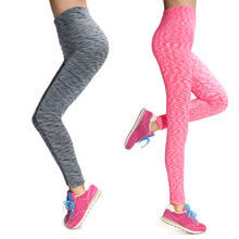 2016 High Quality Women Workout Sport Leggings Elastic Fitness Gym Leggings For Women Push Up Spandex Legging Workout Pants