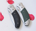 2 Options G10 steel Folding Pocket Knife Hunting Knife Survival Knives Camping EDC Tools