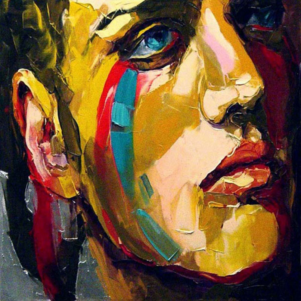 Popular abstract face paintings buy cheap abstract face for Where to buy fine art