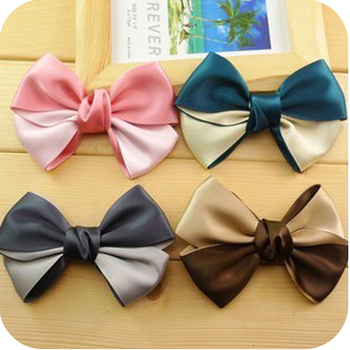 (Min order$10) Free shipping!Accessories  decoration bow hairpin headband hair accessory.