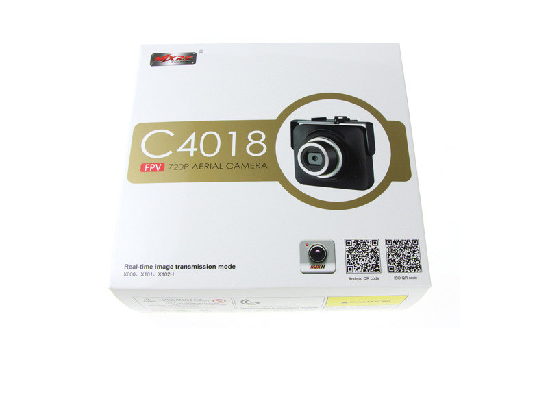 Updated Version MJX C4018 FPV WIFI Camera 1.0MP 720P HD Camera Drone Part for MJX X101 X600 RC Quadcopter Equal C4008 Camera