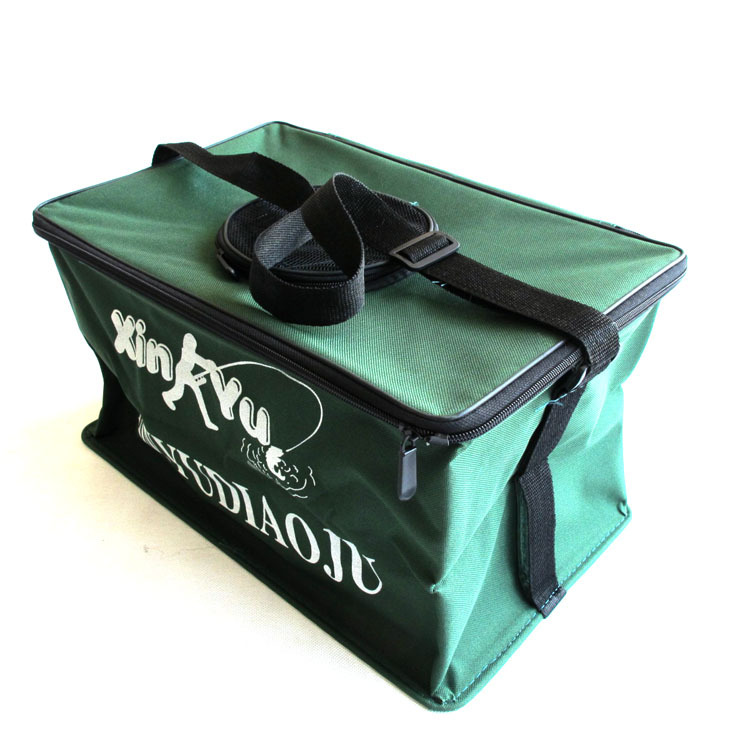 Free shipping undersigned square bucket fish bucket for Large tackle boxes for fishing
