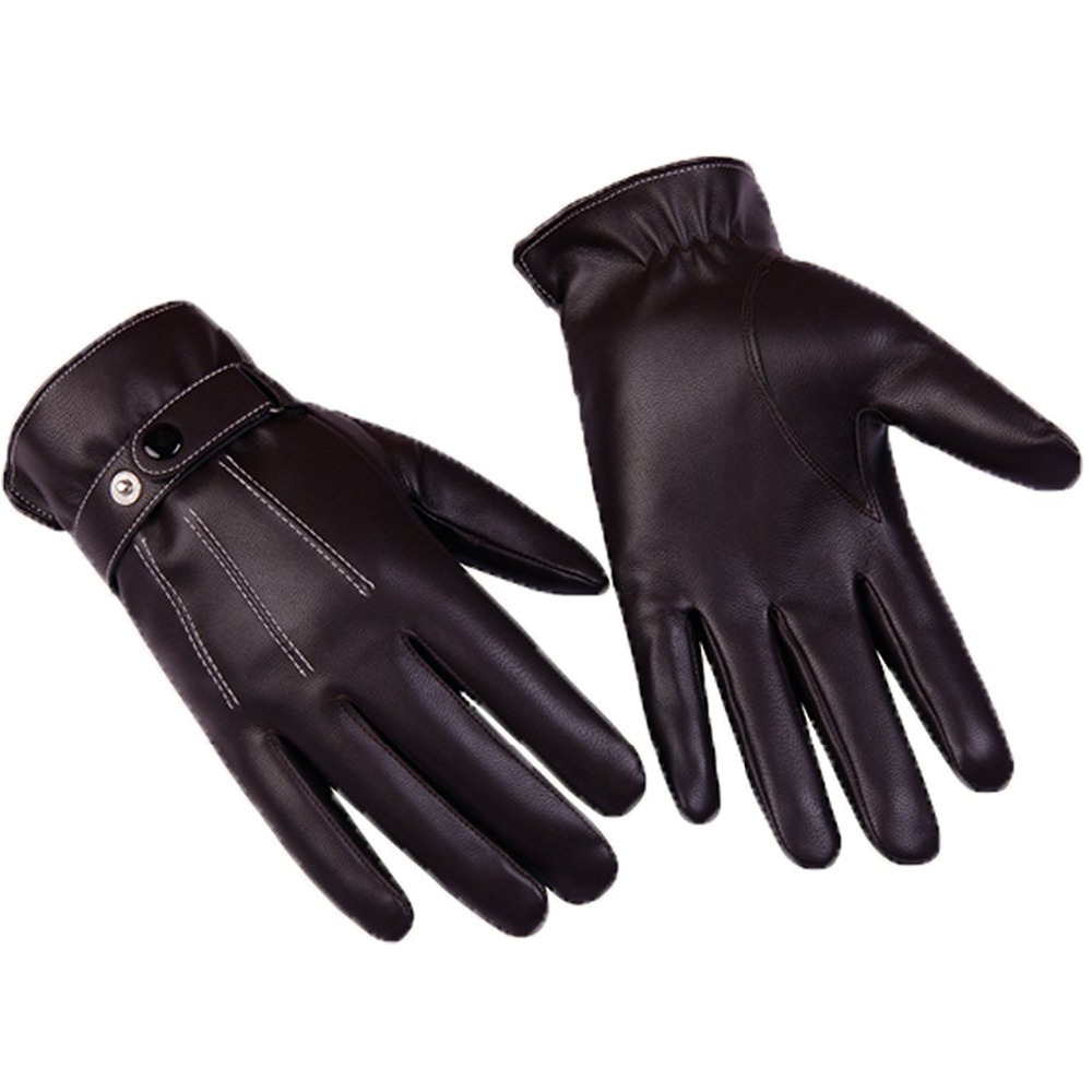 Quality leather driving gloves - Brown Leather Driving Gloves