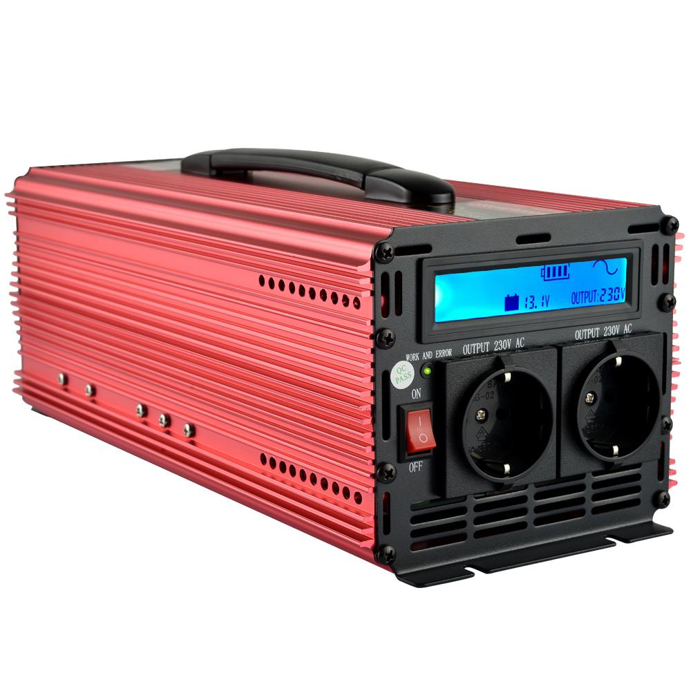 universal inverter pure sine wave inverter 2000W 4000W peak power DC 12V to AC220V 230V 240V(China (Mainland))