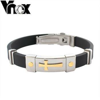 Браслет мужчины ювелирные изделия черный силикон браслеты для мужчины браслет ювелирные ...