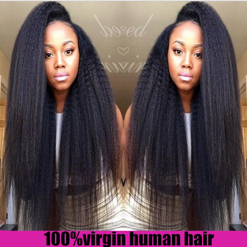 Malaysian Kinky Straight Hair Weave Quality Hair Accessories
