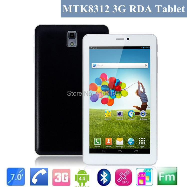 "Free shipping 7"" MTK 8312 3G phone call Tablet PC Android 4.2 Dual SIM card Dual Core Dual Camera WIFI+GPS+Bluetooth+2 SIM card(China (Mainland))"