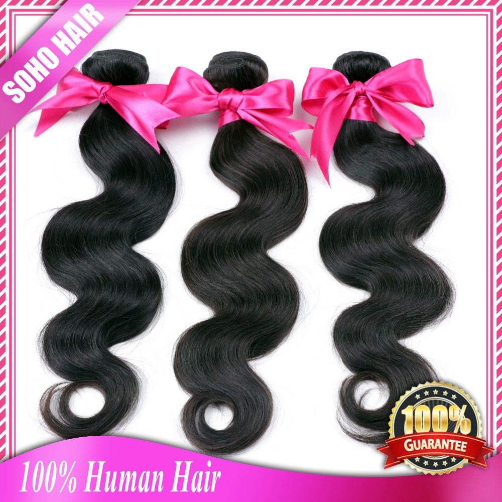 Angel Grace Hair Products European Virgin Hair Body Wave 8A Lili Hair Beauty Products Luvin Hair Products Natural And Weave(China (Mainland))