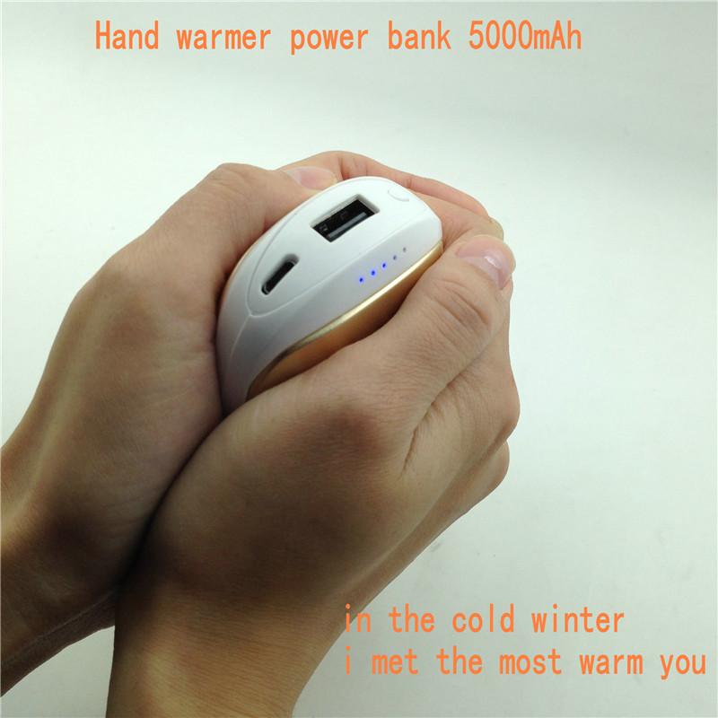 Cell Phone Warmer ~ Portable hand warmer power bank mah extenal backup