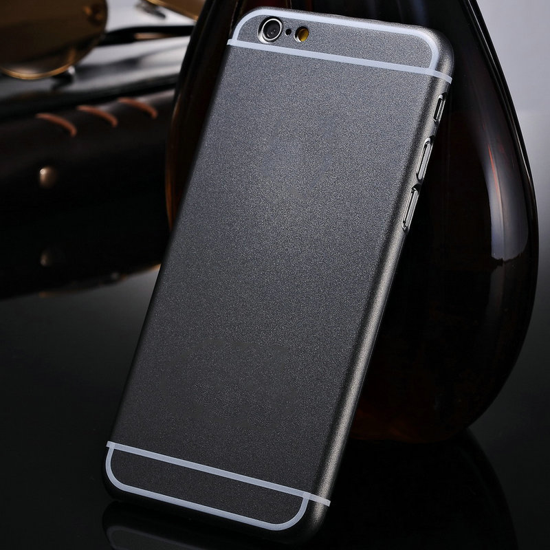 With Brand Logo Popular Original Hard Case for iPhone 6 Plus 5.5 Inch Ultra Thin Matte Plastic Protective Back Cover(China (Mainland))