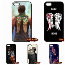 Buy iPod Touch 4 5 6 Samsung Galaxy Note 2 3 4 5 HTC One M7 M8 M9 LG G2 G3 G4 G5 Walking Dead Daryl Dixon Wings Case Cover for $4.95 in AliExpress store