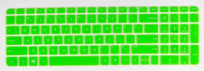 High Quality Ultra Thin Silicone Keyboard Protector Skin Cover for HP Pavilion DV6-6118NR/6158NR/6152NR/6170US/6C10US(China (Mainland))