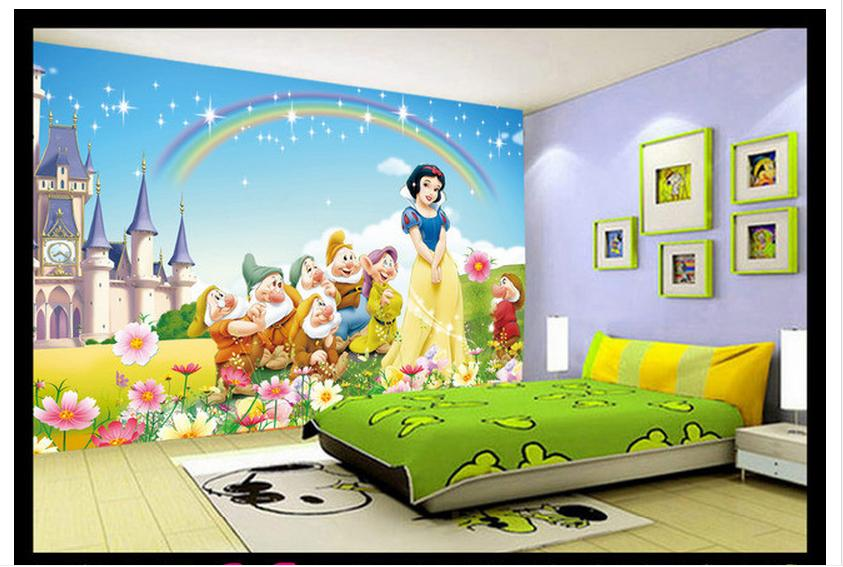 Customized 3d wallpaper 3d kids wallpaper murals snow for Children s mural wallpaper
