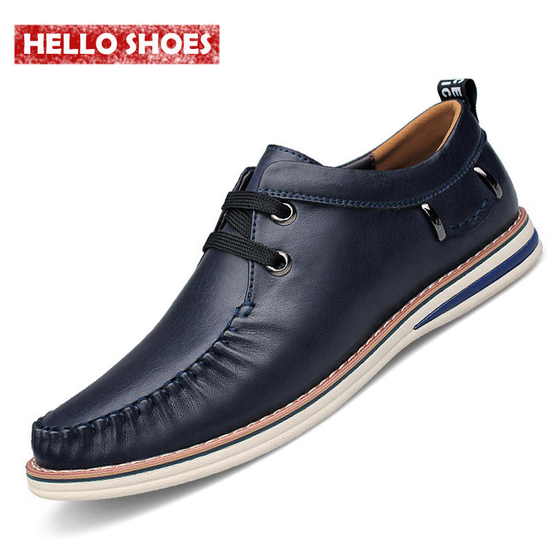 Fashion Sasual Men Shoes Lace Up Pleated Genuine Leather Shoes Men Fashion Pleated Casual Shoes 2016 New Arrival<br><br>Aliexpress