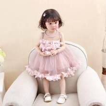 Cô gái Ăn Mặc 2018 Vụ Nổ Mùa Hè Rắn Màu Denim Ăn Mặc Phim Hoạt Hình Polka Dot Bow Phim Hoạt Hình Thỏ Satchel Hàn Quốc Bé Dễ Thương Ăn Mặc(China)