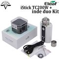 Original Eleaf Istick TC 200w Box Mod Upgradeable Firmware vw vv Huge Vape 200w Mod