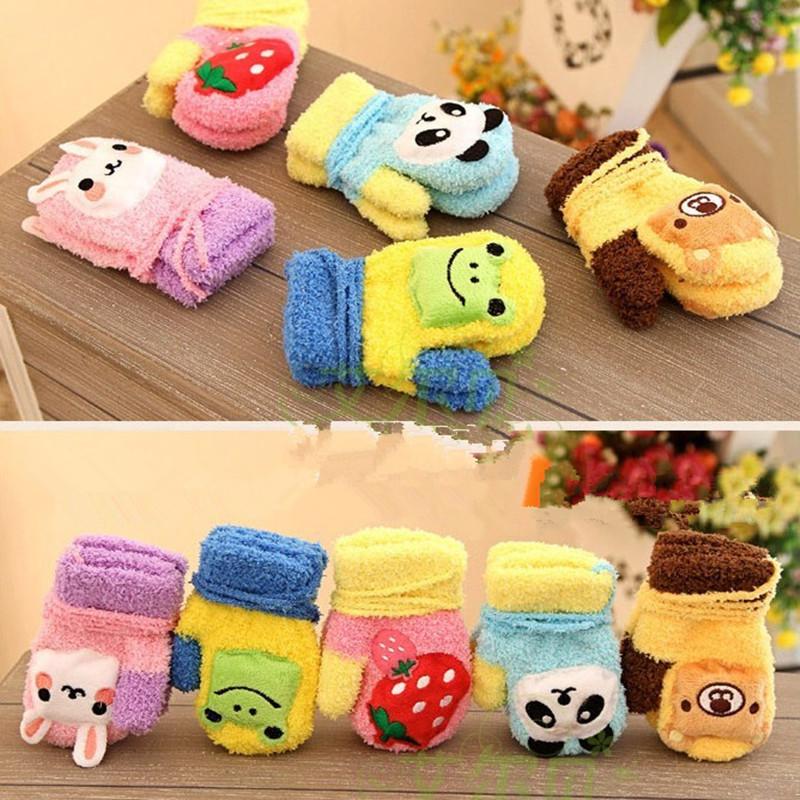 1PAIR Cotton Newborn Baby Mittens Printed Luva 6M-3T Baby Gloves Kids Gloves QSP-R8E5R(China (Mainland))