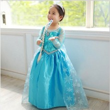 Summer Anna Elsa Fever Girls Lace Dress Up Party Costume Princess Kids Cartoon Disguise Vestidos Star De Wars Paw Robe Patrol