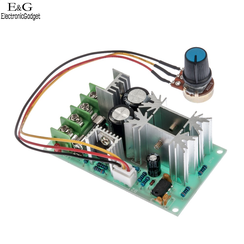 Industrial joystick wiring diagram joysticks connections for Industrial dc motor controller