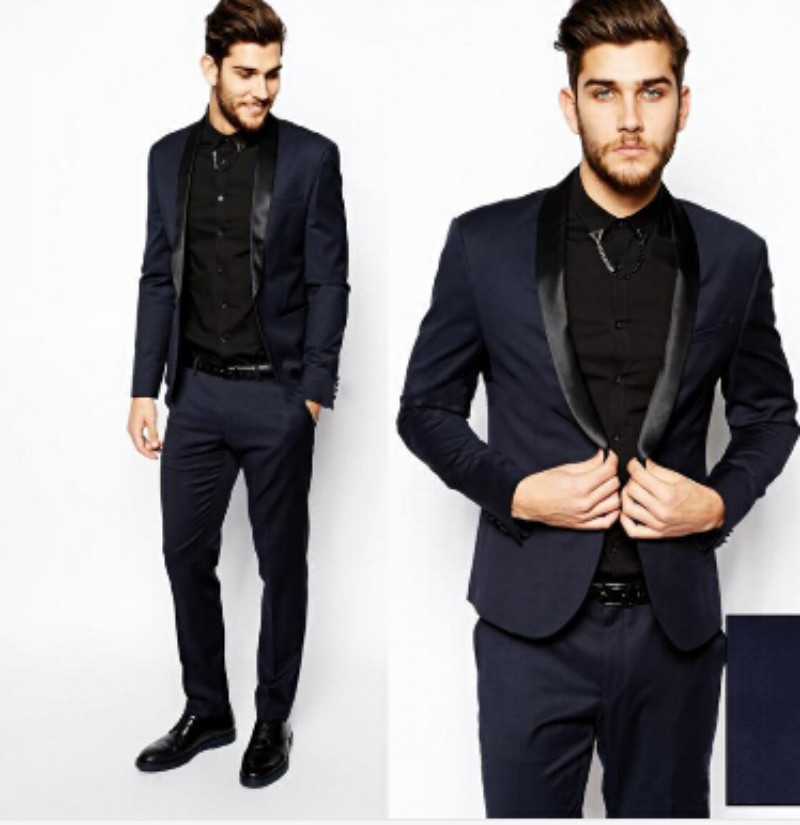 Buy 2016 Men Formal Slim Fit Dress Suits