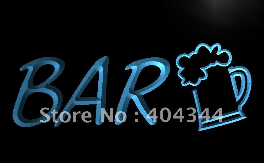 LB568- Beer Cup Brewer Bar Pub Club NEW LED Neon Light Sign home decor shop crafts(China (Mainland))